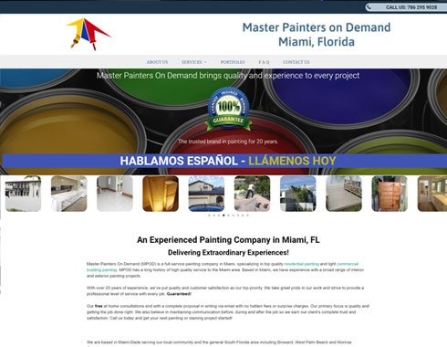 master painters on demand